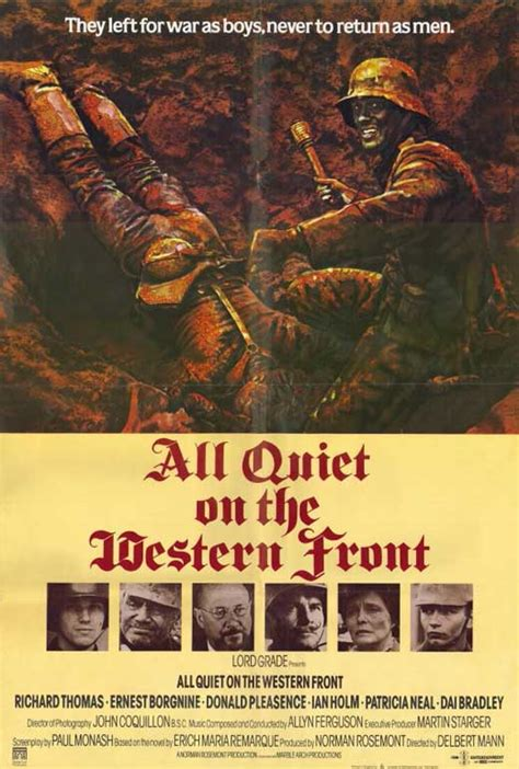 film perang all quiet on the western front all quiet on the western front movie posters from movie