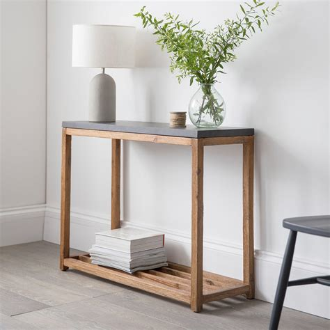 How To Make A Hallway Console Table