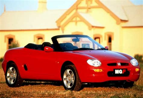 mg mgf review   carsguide