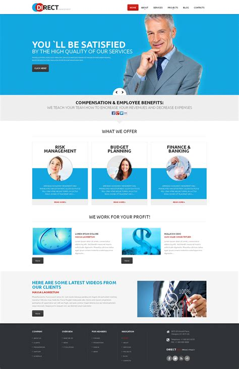 Fresh Wordpress Templates For Business Anthonydeaton Com Assistant Website Template
