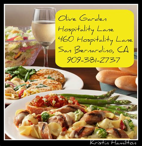 Olive Garden Riverside Ca by Do You A Favorite Restaurant How About Trying Olive