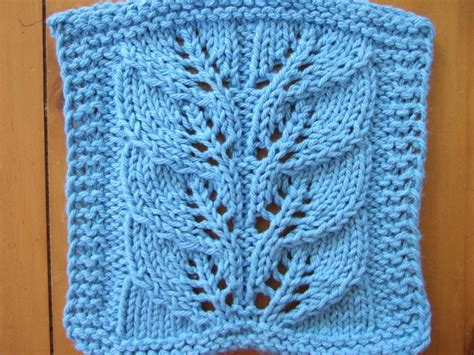 leaf pattern for knitting free knitting pattern dishclothes washcloths twin