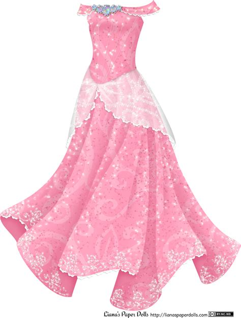 Princess Dress princess gown liana s paper dolls