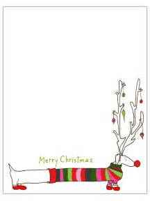 Long dog christmas letter template engaged in art classes