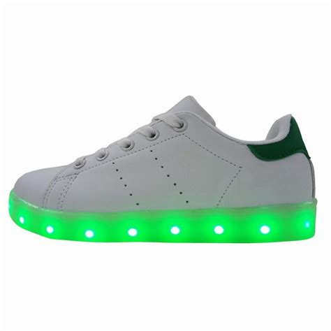 7 Shoes For Teenagers by 7 Changing Colors Pu Fabric Light Up Shoes Boys Led
