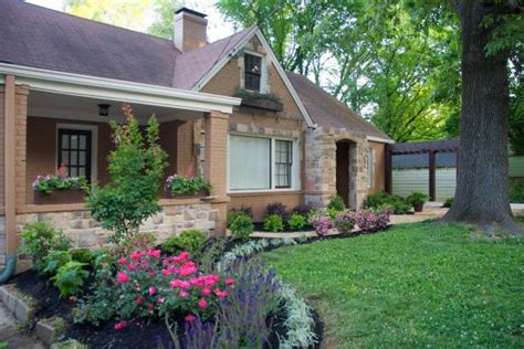 curb appeal tips landscaping  hardscaping hgtv
