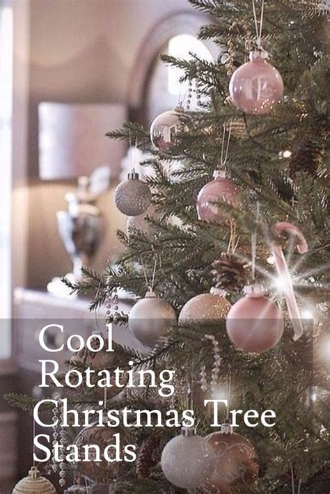 17 best ideas about rotating christmas tree stand on