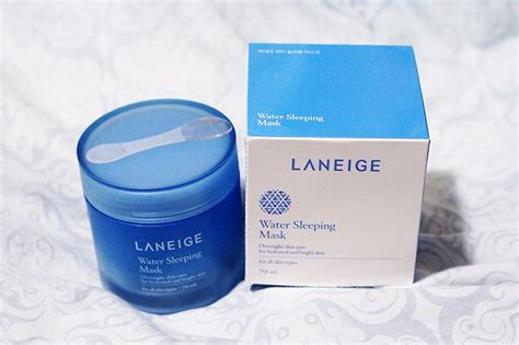 Laneige Water Sleeping Mask Di Counter review laneige water sleeping mask moeslema