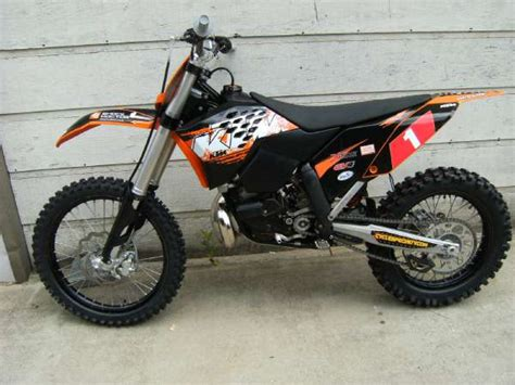 2009 Ktm 250xc Inpomenro Ktm 250 Xc