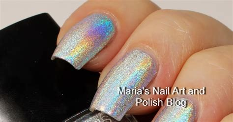 Chanel Duo Platinum Holographic Nail by Marias Nail And Chanel Holographic Duo