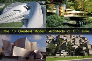 iconic legends the 10 greatest modern architects of our