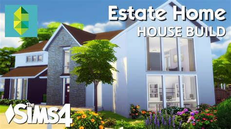 The Sims 4 House Building   Estate Home   YouTube