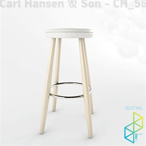 3d warehouse bar stools carl hansen ch56 bar stool 3d model max obj 3ds