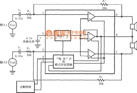 power capacitor wiring diagram lm4911 no output capacitor ocl power circuit diagram other circuit audio circuit circuit