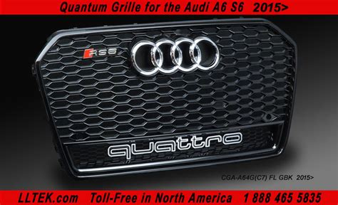 Audi A6 4f Grill by Lltek Replacement Rs Grills For Audi A6 And Audi S6 Cars