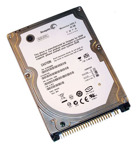 Hardisk Ata 40gb Second seagate st940815a 40gb 5 4k 2 5 quot ata ide disk drive