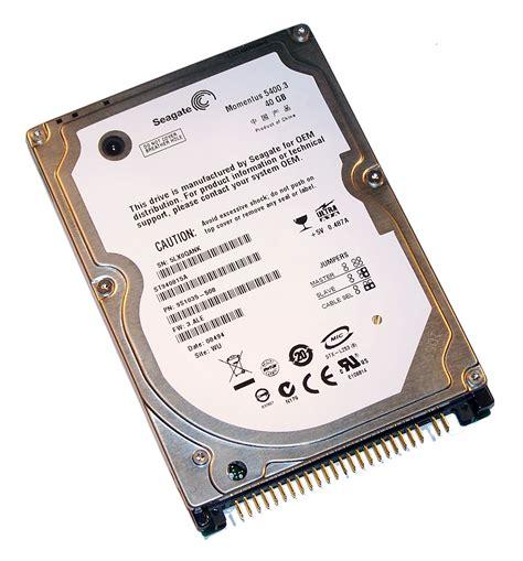 Hardisk Seagate 40gb seagate st940815a 40gb 5 4k 2 5 quot ata ide disk drive