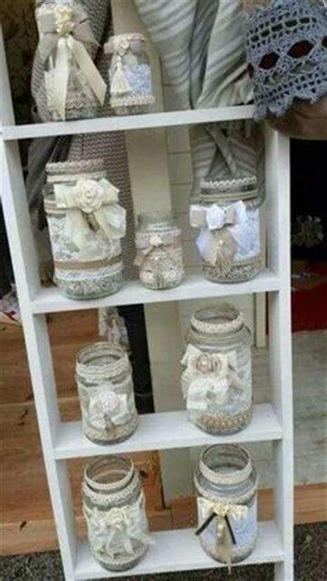 decorar tarros de cristal con puntillas las 25 mejores ideas sobre frascos de encaje en pinterest