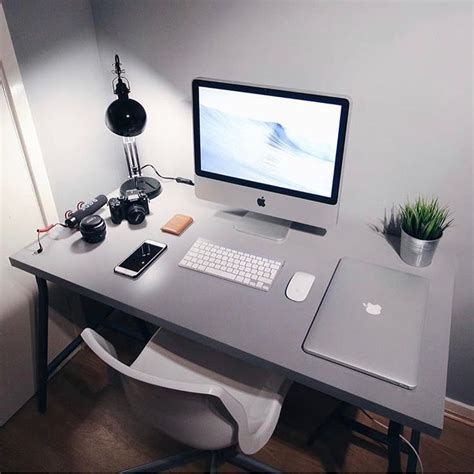1714 Best Office Setup Images On Pinterest Desks Office Computer Desk For Imac