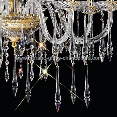 venezianischer kronleuchter quot amadeo quot venezianischer kristall kronleuchter murano