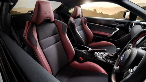 black subaru brz interior 2018 subaru brz sti sport 4k interior wallpaper hd car
