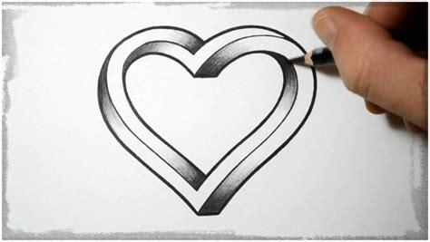 imagenes de corazones sencillos dibujos de corazones a lapiz faciles de hacer otr s