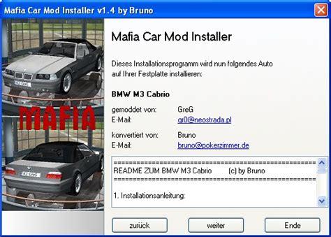 x mod game installer mafia car mod installer file mafia the city of lost