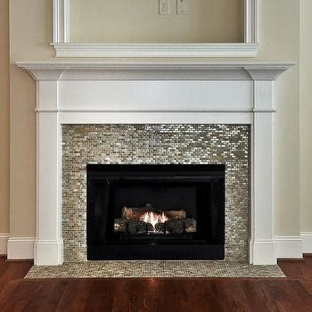Glass Mosaic Fireplace Surround by Slate Fireplace Surround Design Decor Photos Pictures