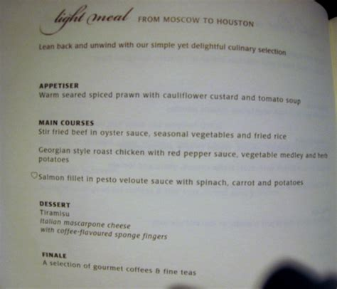 singapore airlines new year menu singapore class review