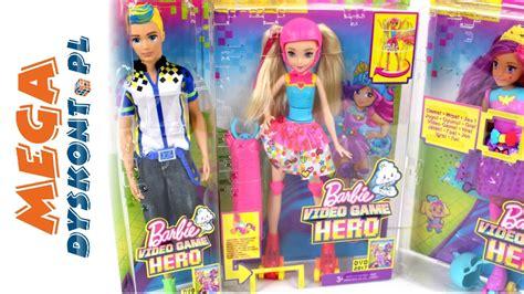 film barbie w dziadku do orzechów lalki barbie w świecie gier mattel youtube