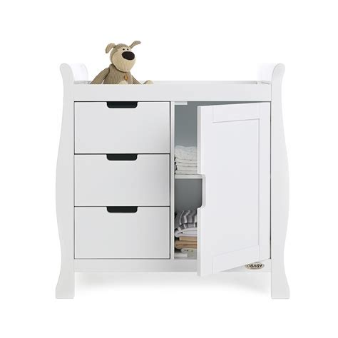 white nursery changing lincoln dresser baby changing unit in white nursery