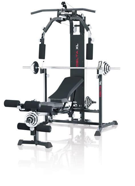kettler banc de musculation delta xl adapt 233 e aux