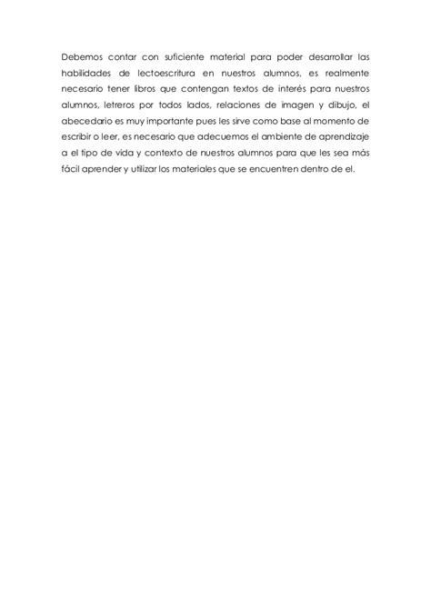 texto reflexivo de lectura y revisi 243 n del programa de espa 241 ol 1 grado