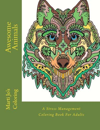coloring books for adults in dubai awesome animals a stress management coloring book for