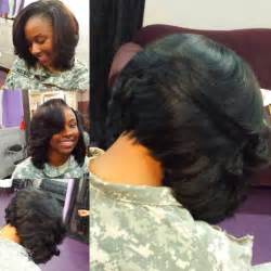layered bob sew in hairstyles for black for black bob cut to perfection hair and beauty pinterest