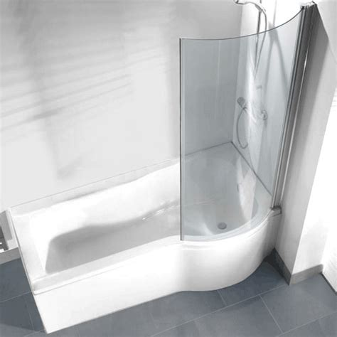 curved shower screen for corner bath p shaped shower bath pack with curved shower screen