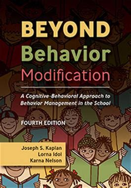 Behavior Modification Books by Beyond Behavior Modification A Cognitive Behavioral