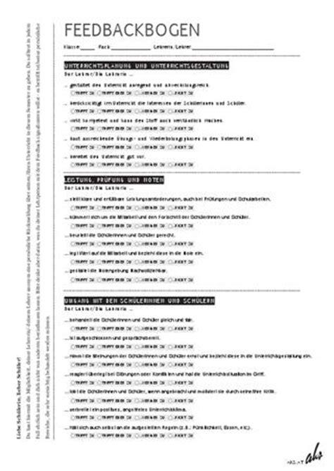 Word Vorlage Unterrichtsplanung Feedbackbogen By Aktion Kritischer Sch 252 Ler Innen Issuu