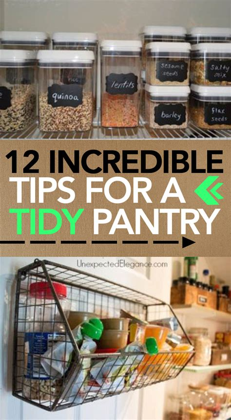 kitchen tidy ideas 12 tips for a tidy pantry