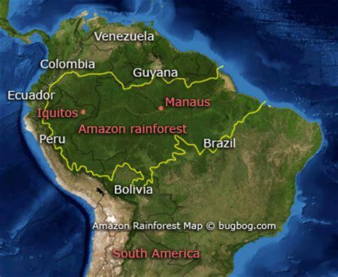amazon america peru map showing tourist destinations plus map of the
