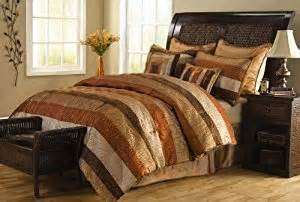 rust colored comforter sets 8 pc spice striped comforter set brown