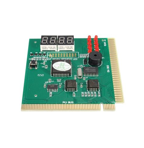 Tester Card Motherboard Pci diagnostic pci 4 digit card pc motherboard post checker