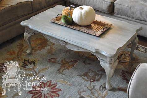 weathered grey coffee table hometalk