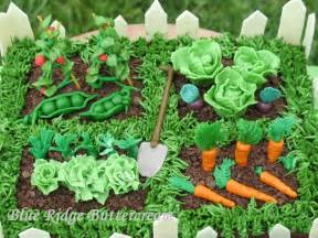 vegetable garden cake blue ridge buttercream