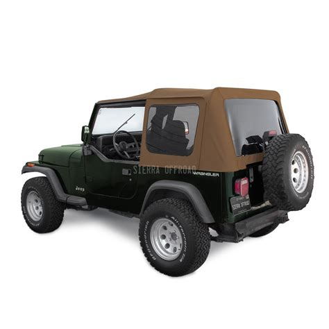 Jeep Yj Soft Top Offroad Jeep Wrangler Yj Soft Top 88 95 In Spice