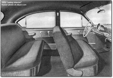 Auto Upholstery Nyc by History Of Kaiser Cars 1947 1955