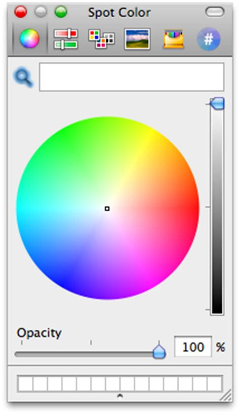 spot color use mac os x color picker as a standalone app