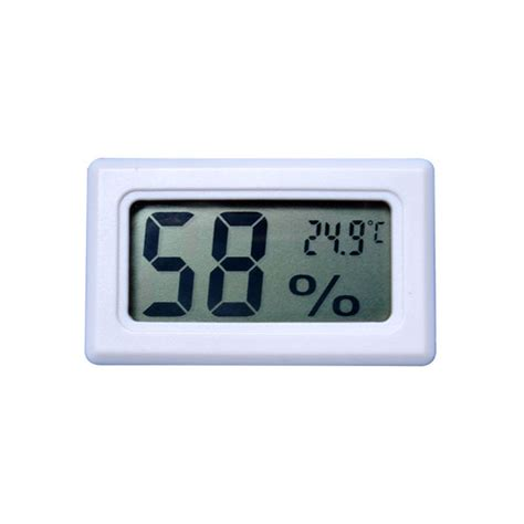 Thermometer Hygrometer Digital thermometer hygrometer in out thermometer small digital thermometer hygrometer white