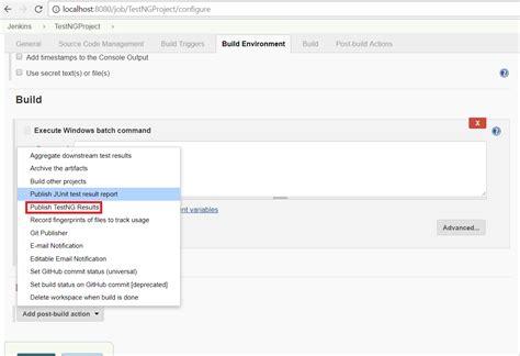 xml pattern tester generate testng reports using jenkins software testing
