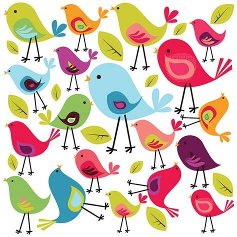 bird sticker birds wall sticker set by spin collective